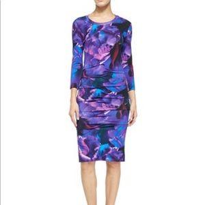 Dresses & Skirts - Nicole Miller Atelier Floral 3/4 Sleeve Dress